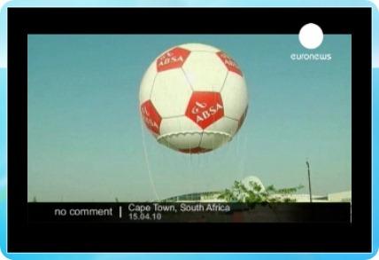 Кадър от подкаст на Euronews.
